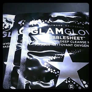 Glamglow bubble sheet masks